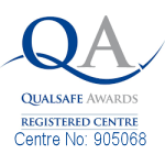 Qualsafe Centre Logo With Number 150x150