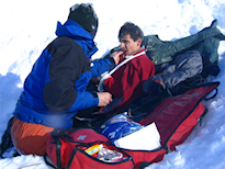 Outdoor First Aid mountain first aid training course